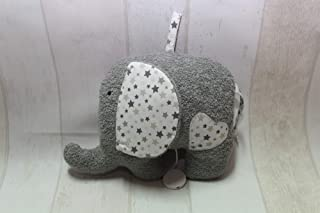 Spieluhr Elefant grau/weiß mit WUNSCHSPIELUHR