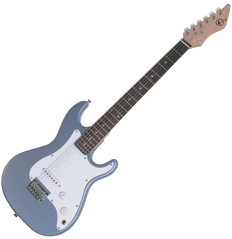 Kay KE17MBL エレキギター 7/8 Solid Body Full Scale Neck Blue エレキギター エレクトリックギター (並行輸入) B006JGTX4S