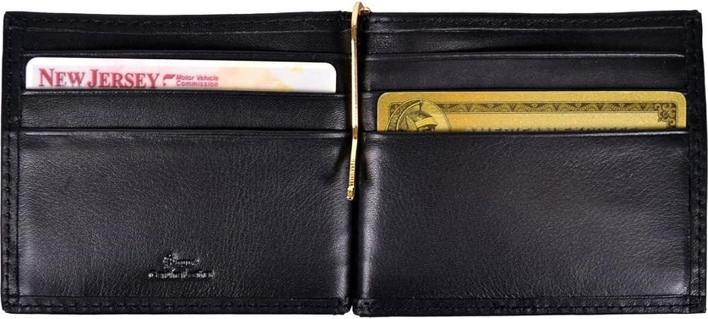 Royce Leather Mens RFID Blocking Money Clip Wallet