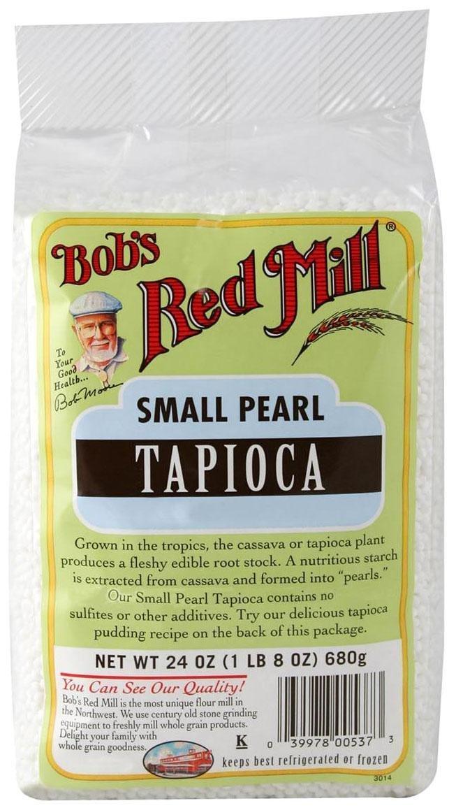 Bob's Red Mill Tapioca, Small Pearl 24 oz Bob's Red Mill Tapioca 039978005373