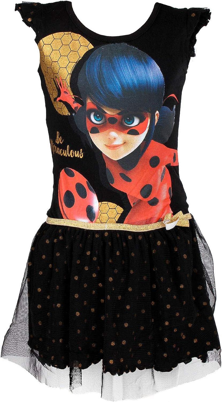 Miraculous Ladybug Cat Noir Kleid Neu mit Etikett gr 116
