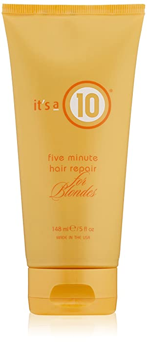 Top 9 It Is 10 5 Min Miracle For Blondes