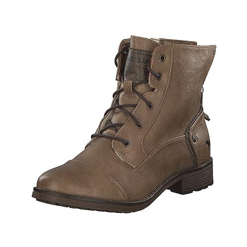 Mustang 1265-601 - Botines de Material Sintético Mujer: Amazon.es: Zapatos y complementos