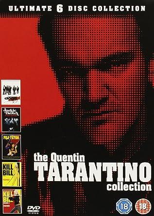 Quentin Tarantino Dvd Boxset [Reino Unido]: Amazon.es: Movie, Film ...