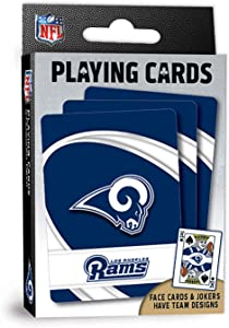 MasterPieces NFL Los Angeles Rams Playing Cards