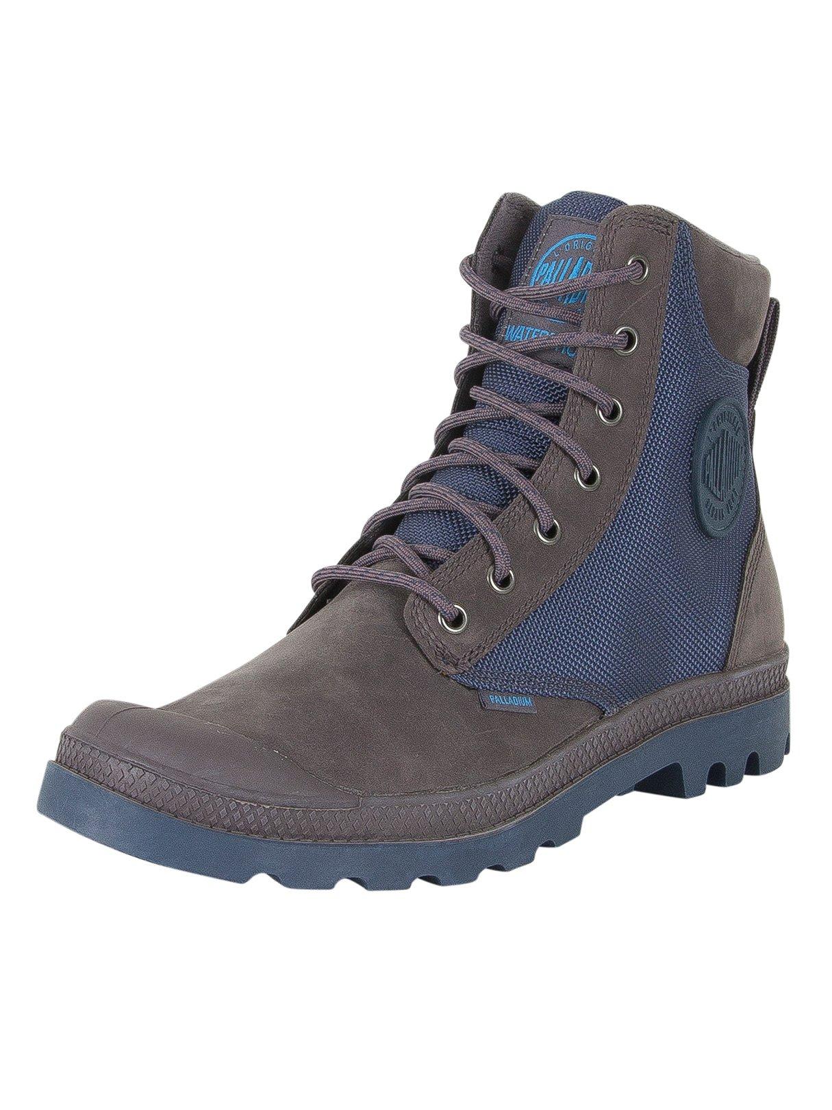 Palladium Men's Pampa Sport Cuff WPN Boots, Grey, 11.5 US