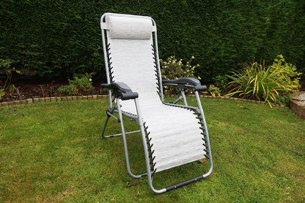 Leisurewize Birley Relaxer Luxus Campingstuhl