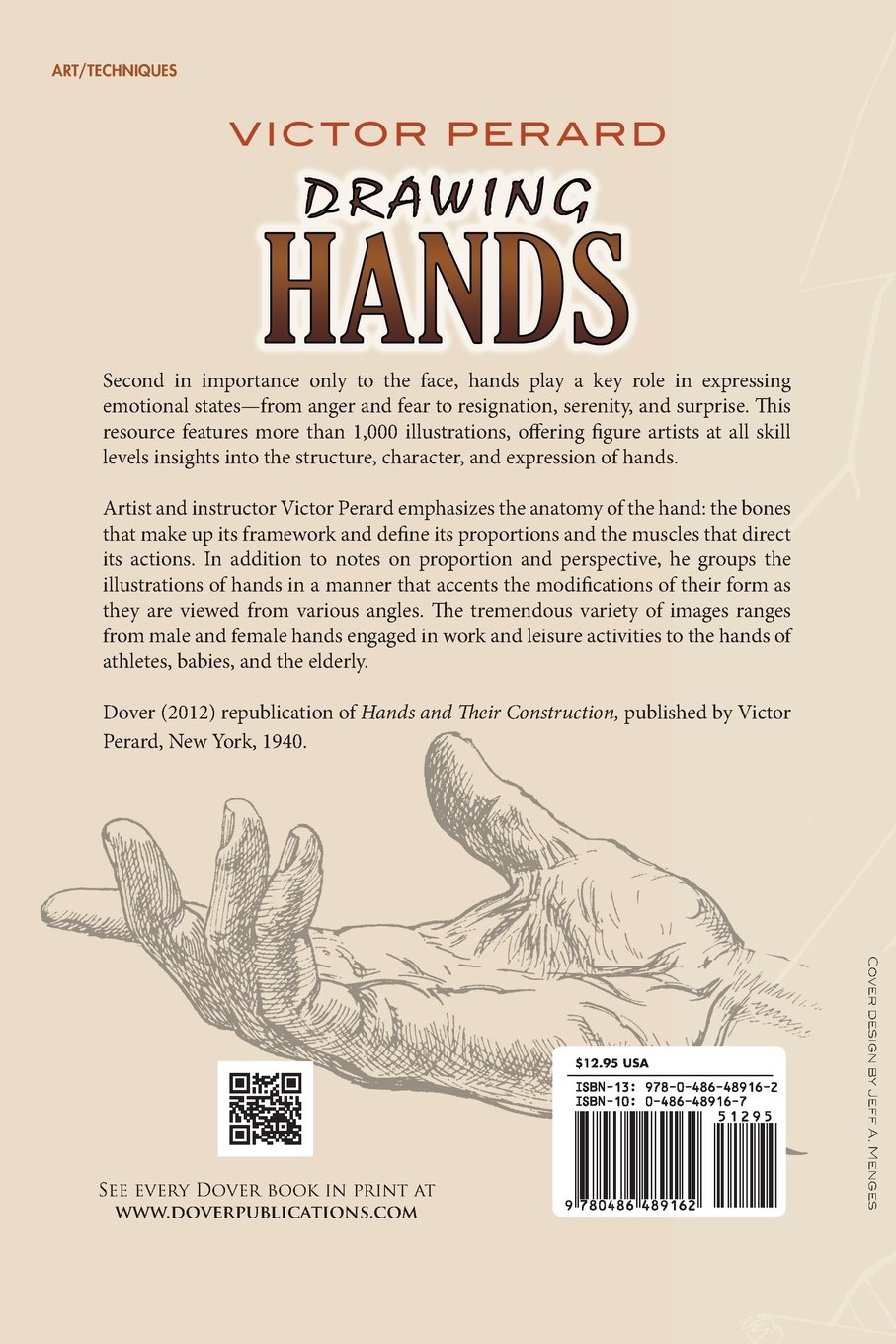Drawing Hands: With Over 1000 Illustrations (Dover Art Instruction ...