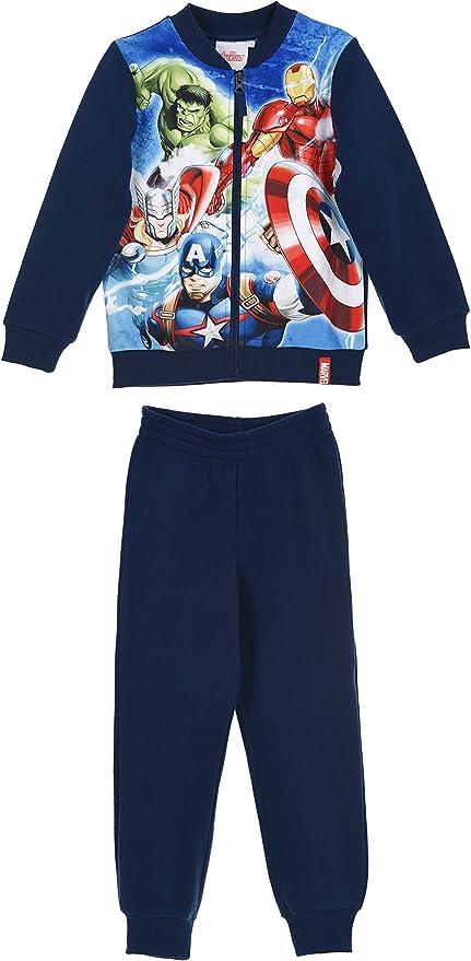 Marvel The Avengers Niños Joggingsuit / Chándal. (Azul, 10 Años ...