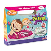 Simba - 105952287002 - Jeu de Bain - Glibbi Double Pack - Rose