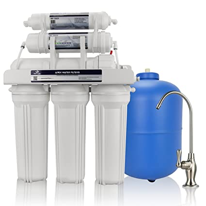 72c992d26 Image Unavailable. Image not available for. Color  APEX MR-6050 6 Stage  Alkaline Reverse Osmosis Drinking Water System