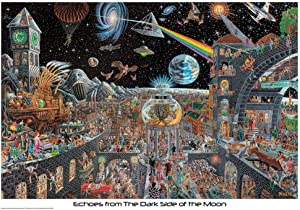 Studio B Laminated Echoes from The Dark Side of The Moon by Tom Masse Poster 22x32