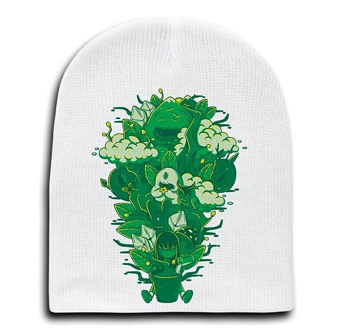 Amazon Miracle Of Life White Adult Beanie Skull Cap Hat