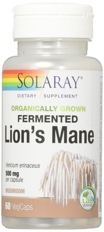 Solaray - Melena de León fermentado seta mg 500