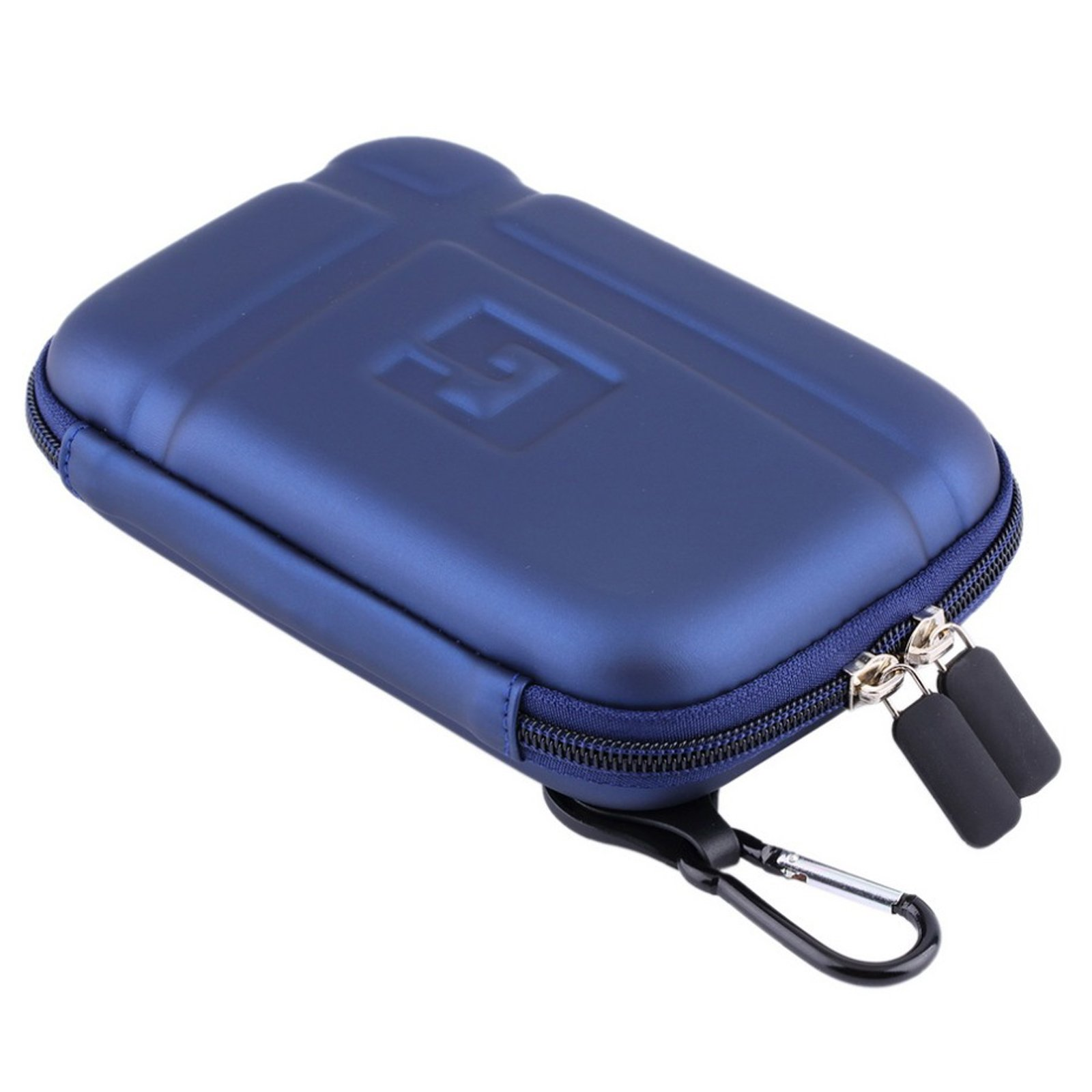 5'' Inch Hard Carrying Travel GPS Case Bag Pouch Protective Shell For 5'' 5.2 Inch Garmin Nuvi 55LM 54LM/54 52LM/52 2597LMT 2577LT 2557LMT 3597LMT TomTom Magellan RoadMate Devices Blue