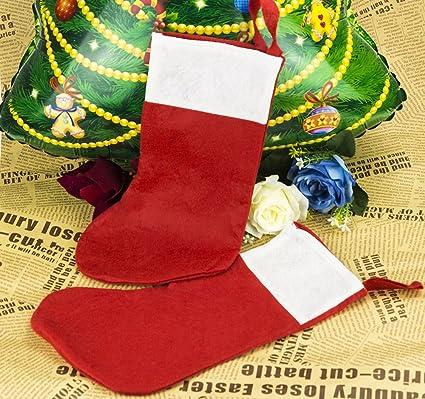 aa7f174a679 12 24pcs BULK PARTY CHRISTMAS STOCKINGS SECRET SANTA WHOLESALE FATHER XMAS  GIFTS (24pcs)  Amazon.co.uk  Kitchen   Home