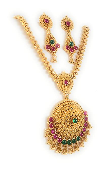 Buy Afj Gold 1 Gram Micro Gold Plated South Indian Traditional