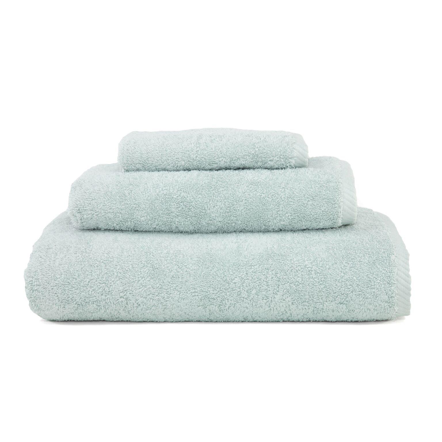 Linum Home Textiles 3 Piece Soft Twist Premium Authentic Soft 100% Turkish Cotton Luxury Hotel Collection Towel Set, Aqua Blue