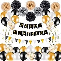 50 Piezas Conjunto de Decoracion de Cumpleaños, Adornos