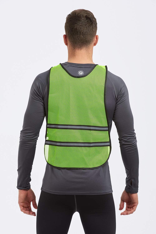 Time To Run High Visibility Lightweight Reflective Running//Cycling//Walking Bib Vest