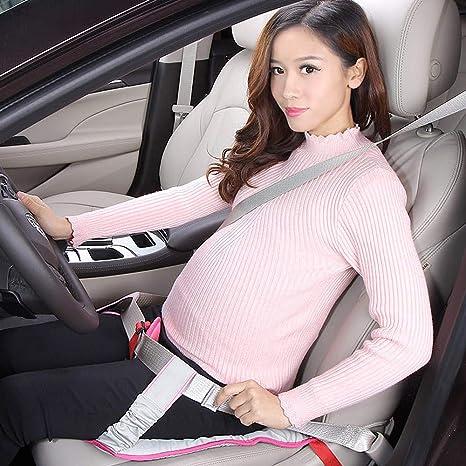 CITTATREND Ceinture de Sécurité Grossesse Maternité en Voiture Coussin  Réglable Siège Auto Antichoc (en évitant cf88984aea3c