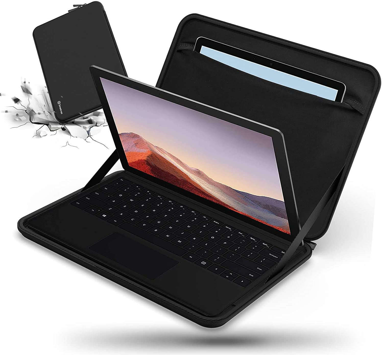 Smatree 12.3inch Hard Laptop Case for Microsoft Surface Pro 7/6/5/4, 10.5'' Surface Laptop Go 2, Microsoft Surface Pro 7 Case, Microsoft Surface Pro 6 Sleeve, 12.3 inch Laptop Bag