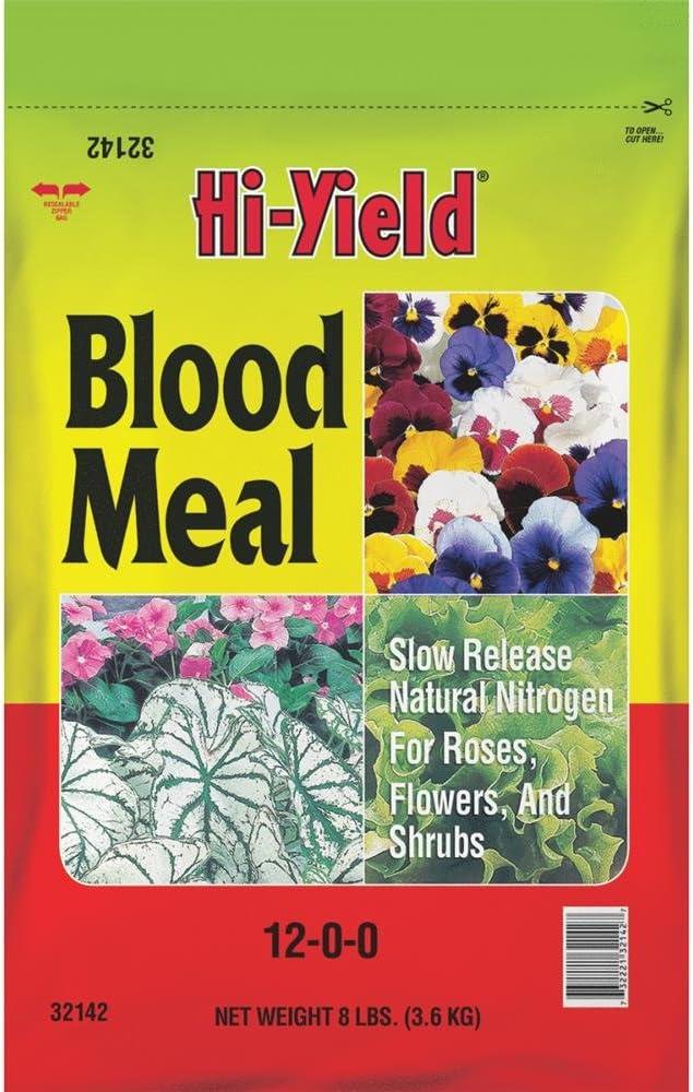 Hi-Yield Blood Meal Granules Plant Food 8 lb.