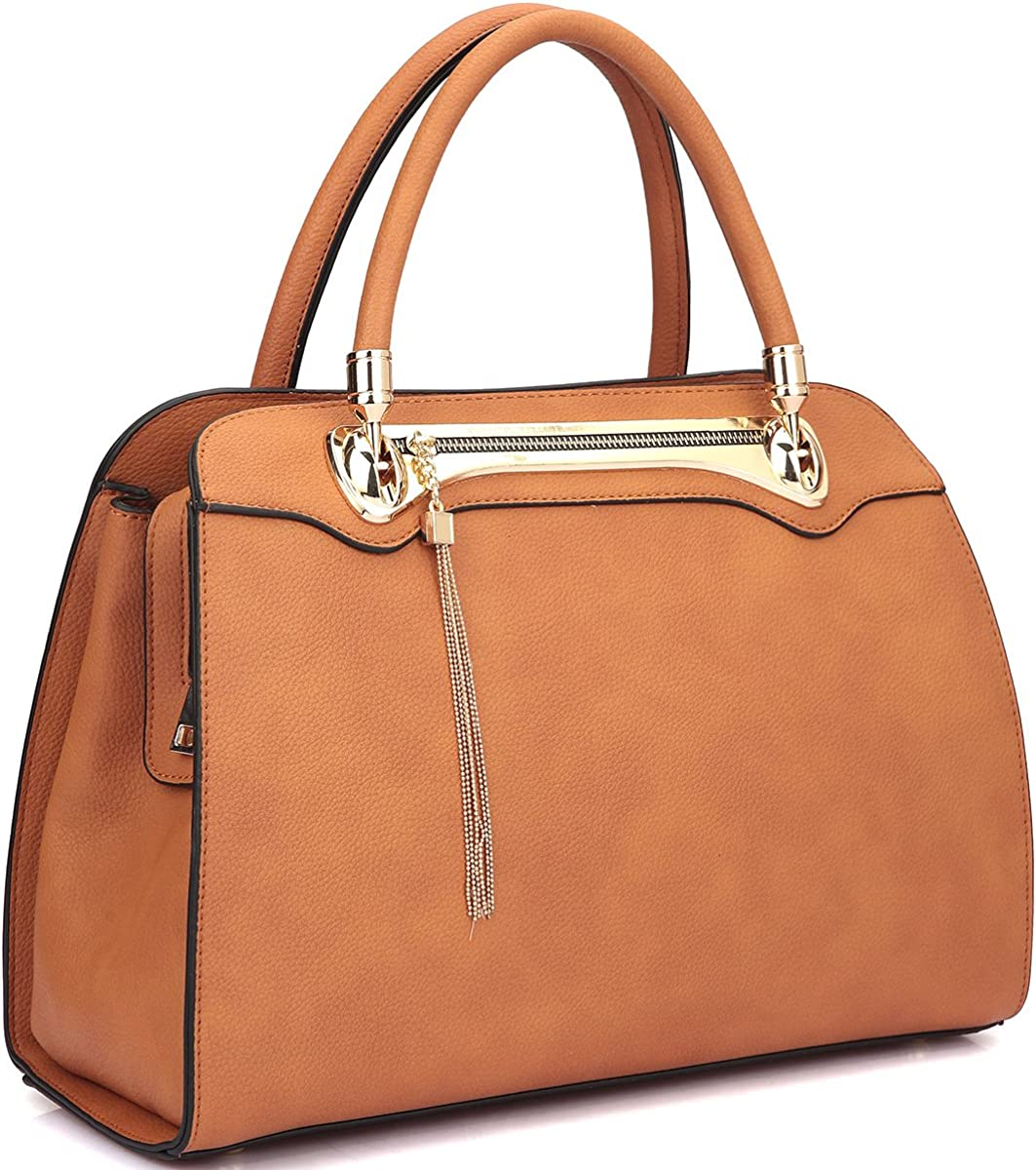 Dasein Faux Leather Gold...