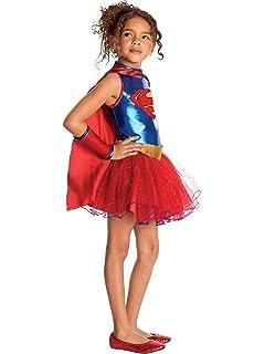 Rubies Supergirl - Childrens Disfraz: Amazon.es: Juguetes y juegos