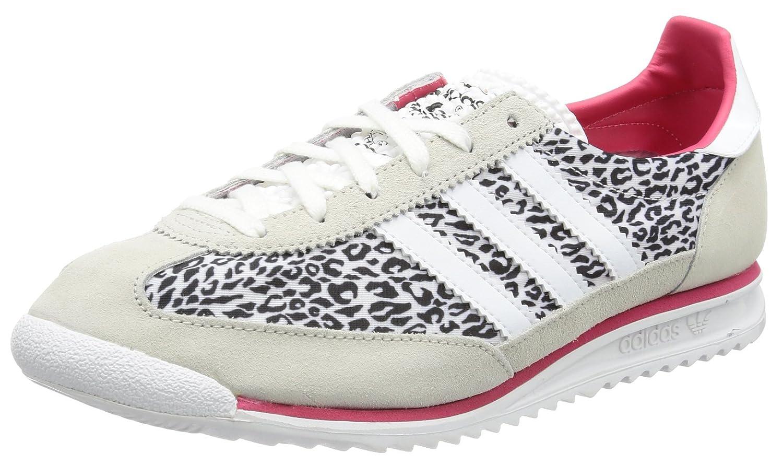 adidas originals sl 72 w trainers leopard
