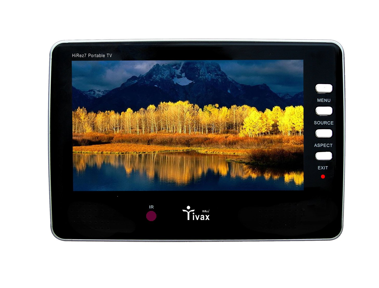 Tivax HiRez7 Portable 7-Inch Digital Widescreen TV (2009 Model) by Tivax