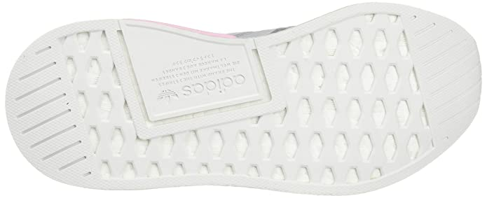 buy online 9bb93 3d14b Amazon.com adidas NMDR2 PK W - BY9520 - Color White-Grey-Pink - Size 5.5  Shoes