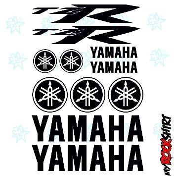 Yamaha TZR Set 30x20 Cm Typ3 Aufkleber Sticker Tuning Bike Motorrad Sponsor Logos