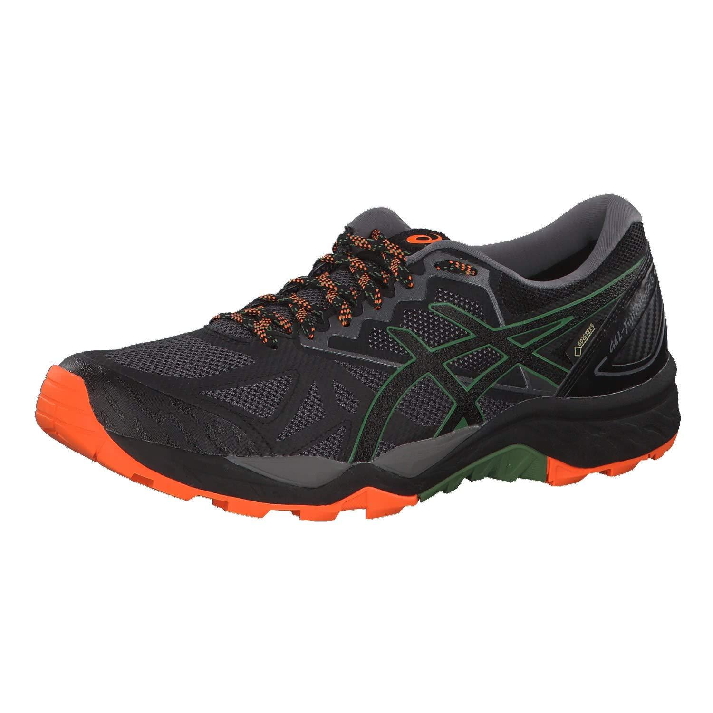 Asics Gel-Fujitrabuco 6 G-TX, Zapatillas de Entrenamiento para Hombre 43.5 EU|Gris (Carbon/Black 020)