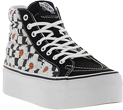 vans sk8 hi checkerboard uk