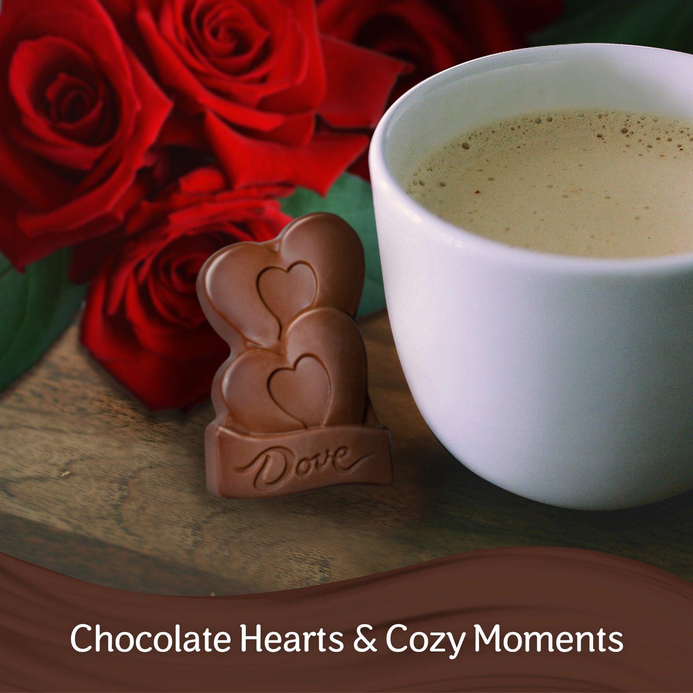 Amazon.com : DOVE Valentine Hearts Peanut Butter Milk Chocolate ...
