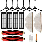 RONGJU Accessories Kit for Roborock S5 S6 S50 E20 E25 E35 Xiaomi Mi Mijia Robotic Vacuum Cleaner, Replacement Parts of 6…
