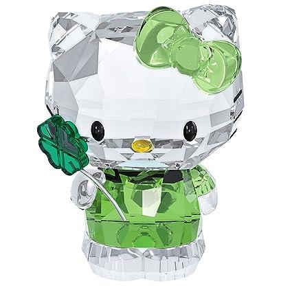 830f6e605b Amazon.com: Swarovski Hello Kitty Lucky Charm Figurine: Home & Kitchen