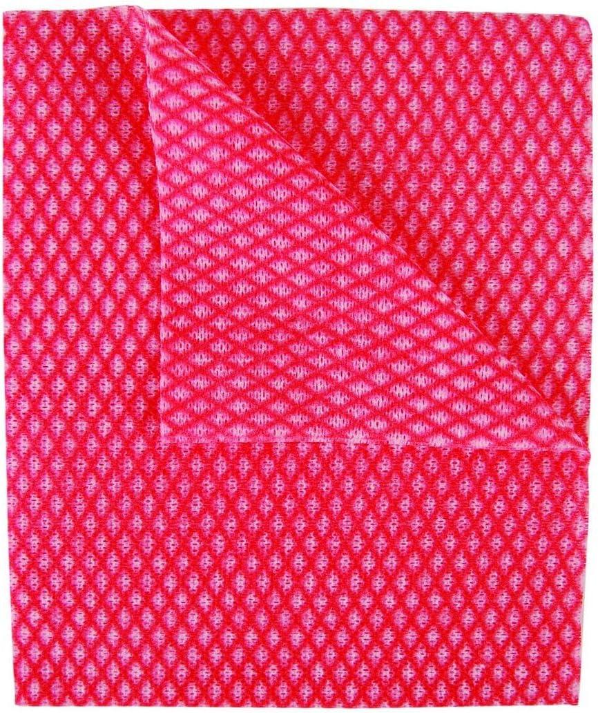 Desechable J Pa/ños Paquete de 50 44 x 36 cm 44 x 36 cm Rojo