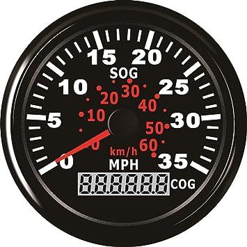 ELING GPS Speedometer Speedo Gauge 0-35MPH For Boat Yacht Vessel 3-3