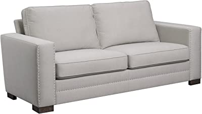 "Serta Hemsley 81"" Sofa in Welcoming Mushroom"