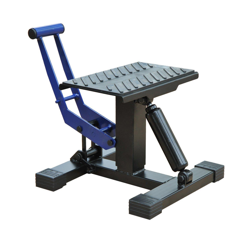 HOMCOM Portable Adjustable Steel Motorcycle Lift Stand/Bike Repair Rack by HOMCOM