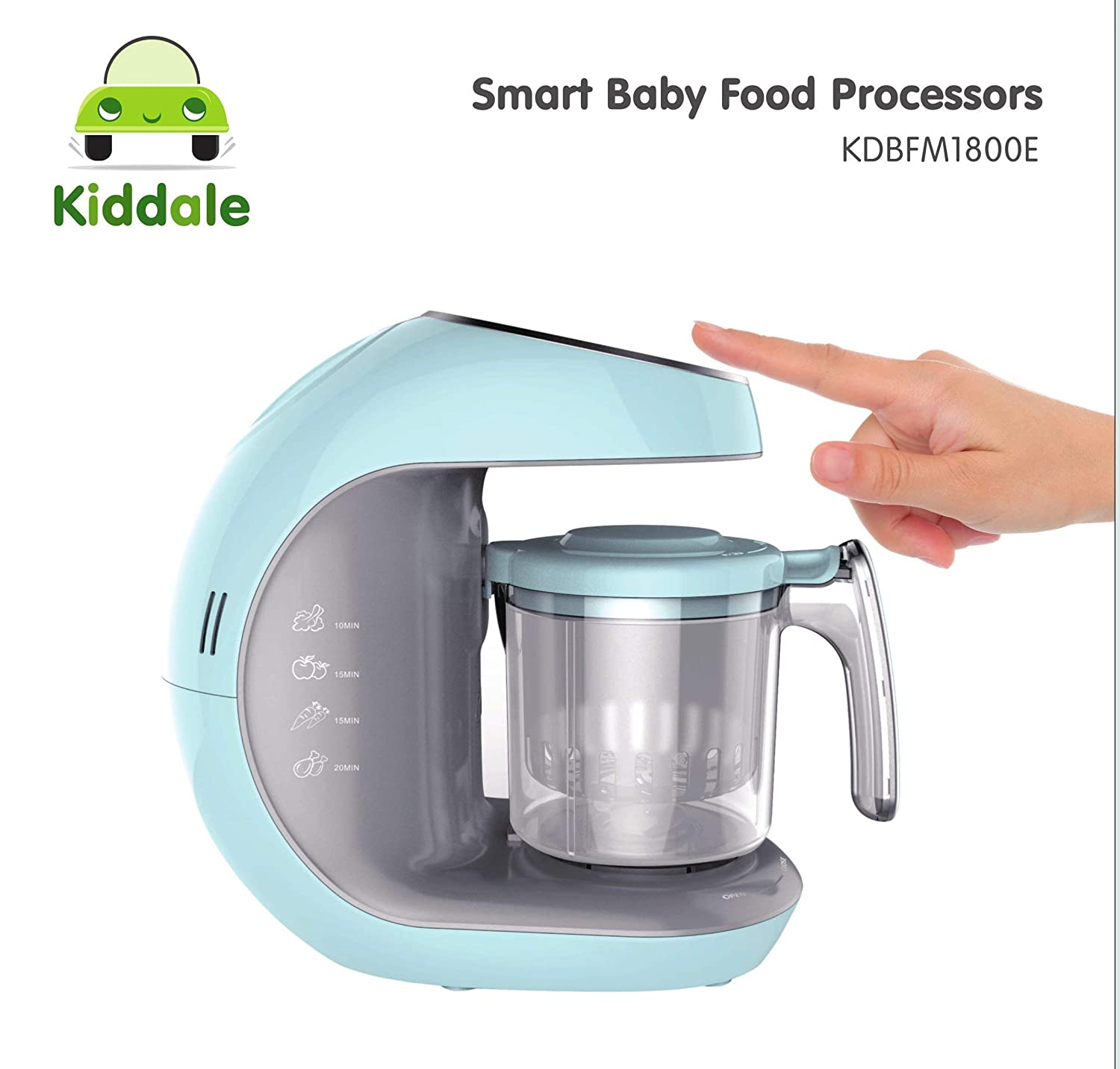 Kiddale 5in1 Smart Digital Baby Food Processor, Blender or Food Processor? Or Combo?