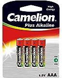 Camelion 59820 Pack de 4 Piles Alkaline universel LR3/AAA 1,5 V 1100 mAh