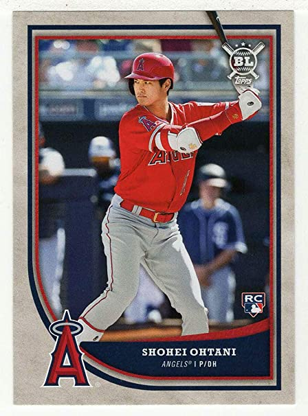 Image result for 2018 topps big league shohei ohtani