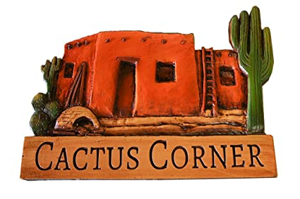 Adobe House Southwest Decor personalized Name or Address Sign (small)