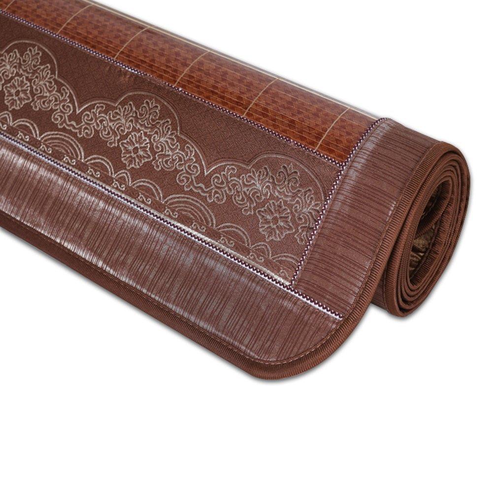 WENZHE Matratzen Sommerschlafmatte Sommer- Matratze Bambus Doppelseitig Verfügbar Hautfreundlich Kühlung,5 Größen, 3 Arten (Farbe   1 -1 mat+1 Pillowcase, größe   120X195cm)