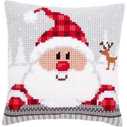 Amazon.com: Vervaco – Kit para cojín de Santa en un sombrero ...