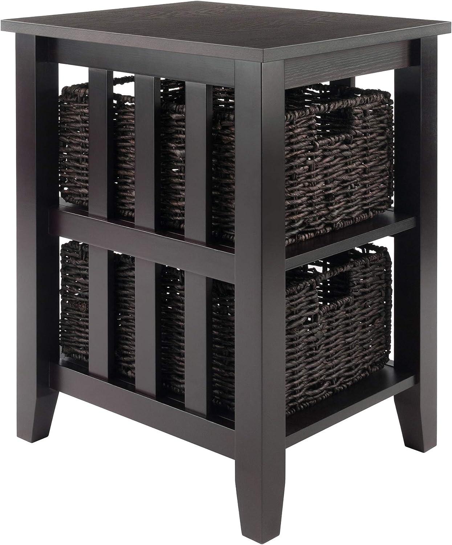 Winsome Morris Accent Table, Espresso : Furniture & Decor