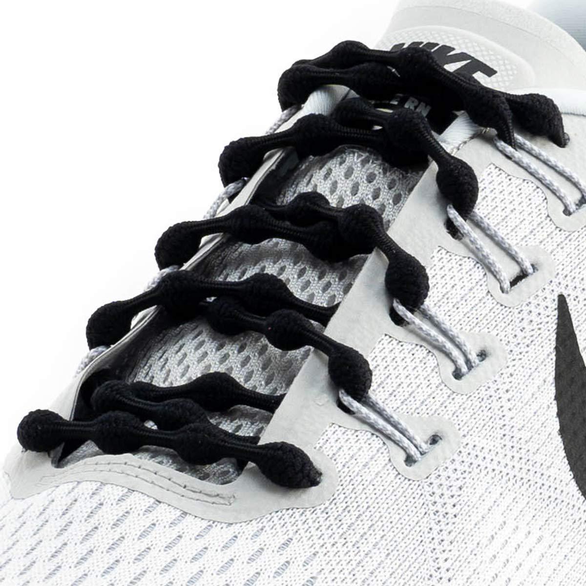Caterpy Laces - The Ultimate No Tie Shoelaces (Jaguar Black)